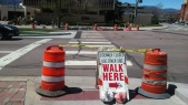 PPLD crosswalk blocked